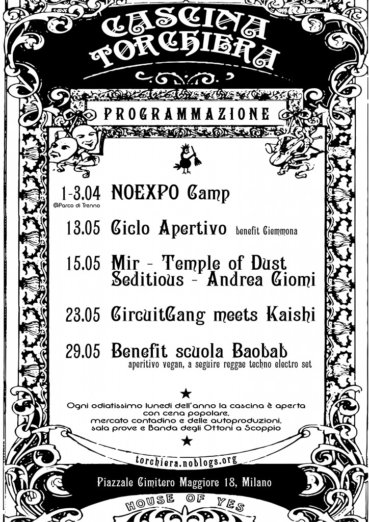 calendario A4 Maggio